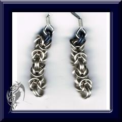 Byxantine earrings