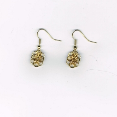 Layered japanese earrings