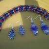 2 Pairs of Earrings w/ Dragonback Bracelet