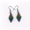 Earring, niobium, 4 In 1 (1)