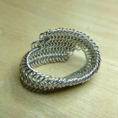 Sterling Silver 24g 3mm E8-1 Spiral