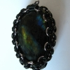 Wrapped labradorite