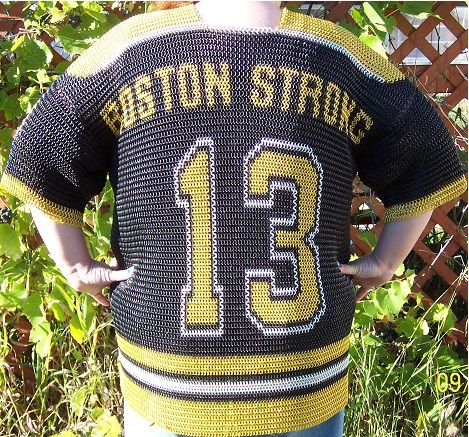 Bruins Jersey back