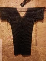 black stainless steel shirt