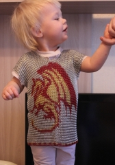 Chainmail shirt with Dragon