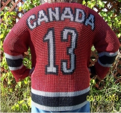Team Canada Jersey Back