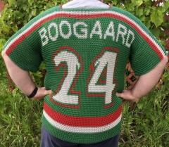 Minnesota Wild chainmail hockey jersey back