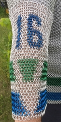 Vancouver Canucks jersey arm