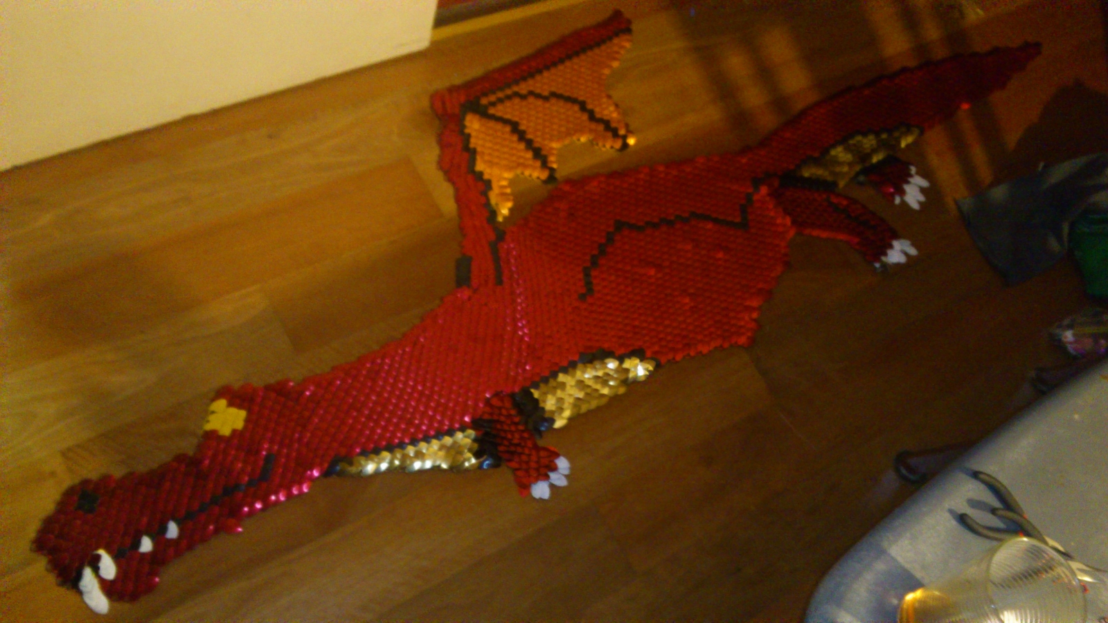 Scaly Dragon made out of scales!