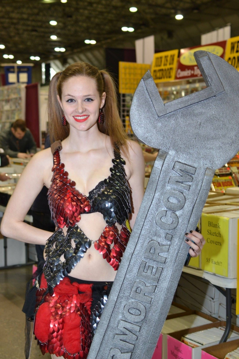 stephanie in her Harley Quinn