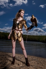 Stephanie in steampunk