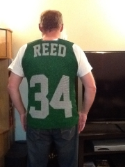 Riders jersey back