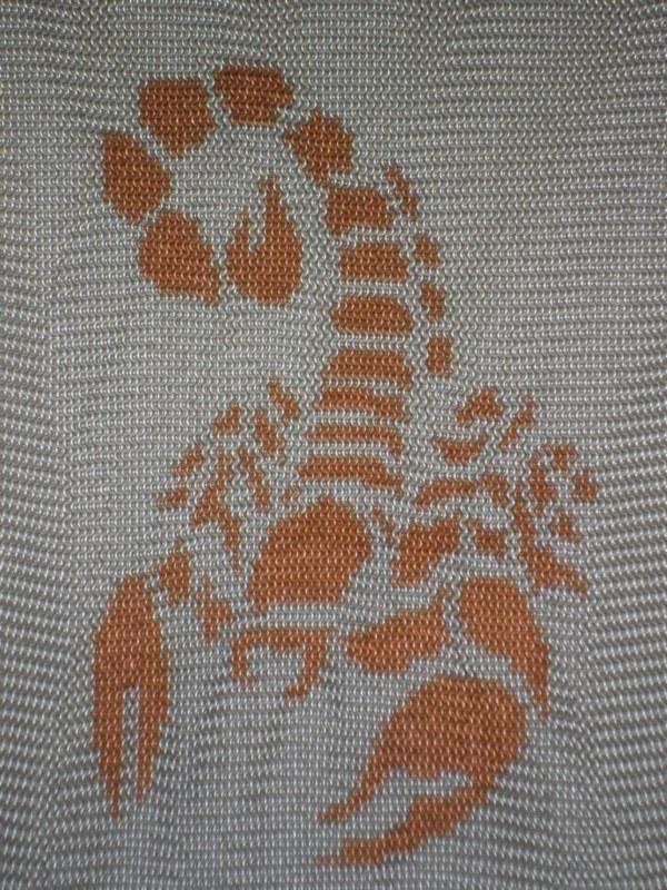 Scorpion inlay