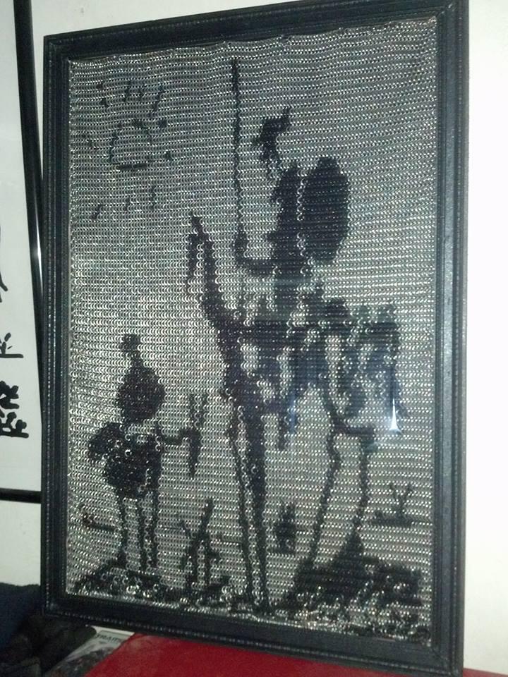 Don Quixote inlay