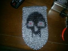 Skull dicebag