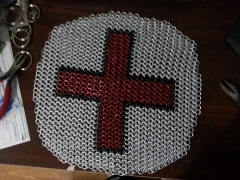 red cross with frost AA  circle