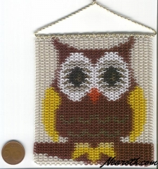 Owl inlay