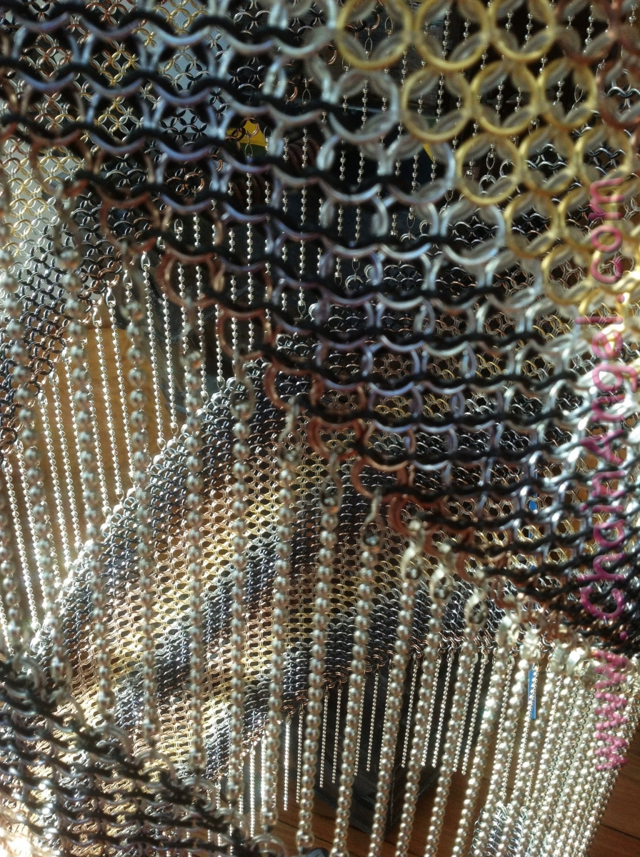 Chainmail Chandelier