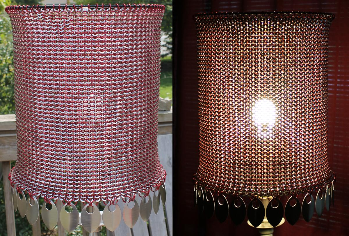 Punch Ring Lamp Shade