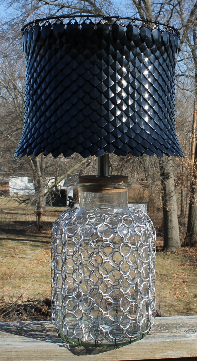 Scale Mail Lamp Shade