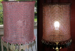 Punch Ring Lamp Shade