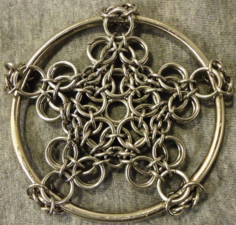 Celtic Star Pentacle