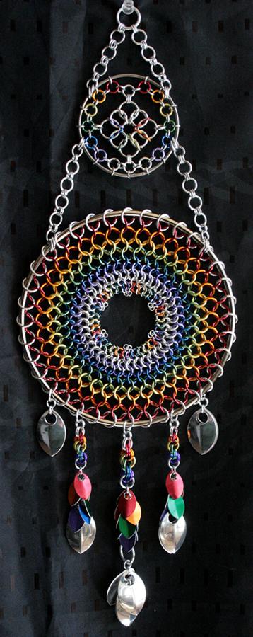 Huge Rainbow Dreamcatcher