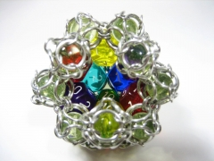 Rollable Chainmaille d12 - Inside, Hollow