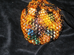 Tiger Stripe Dice Bag View 2