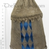 Lined Sterling Maille Purse