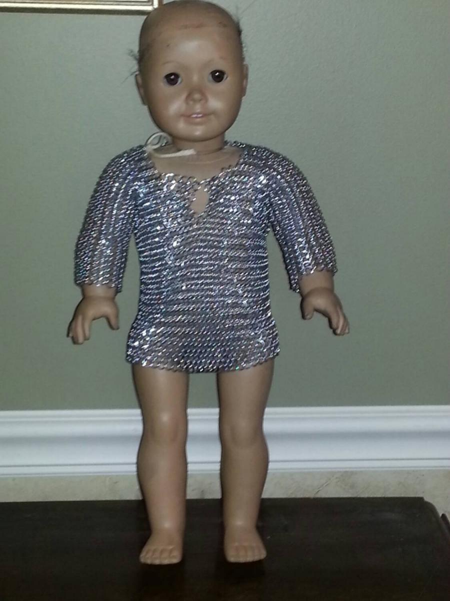 American Girl Doll Chainmail Shirt 2