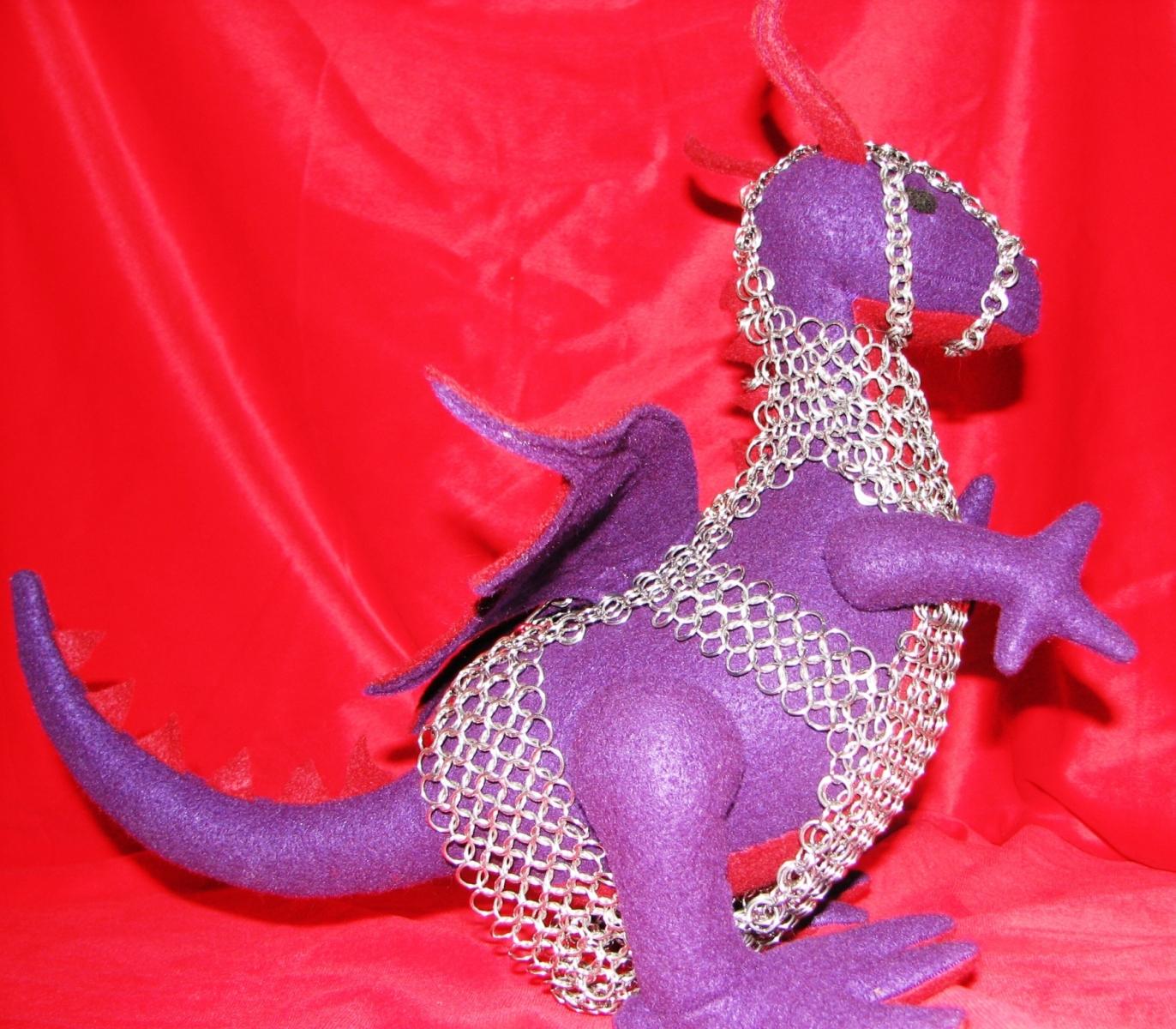 Dragon Barding Side View