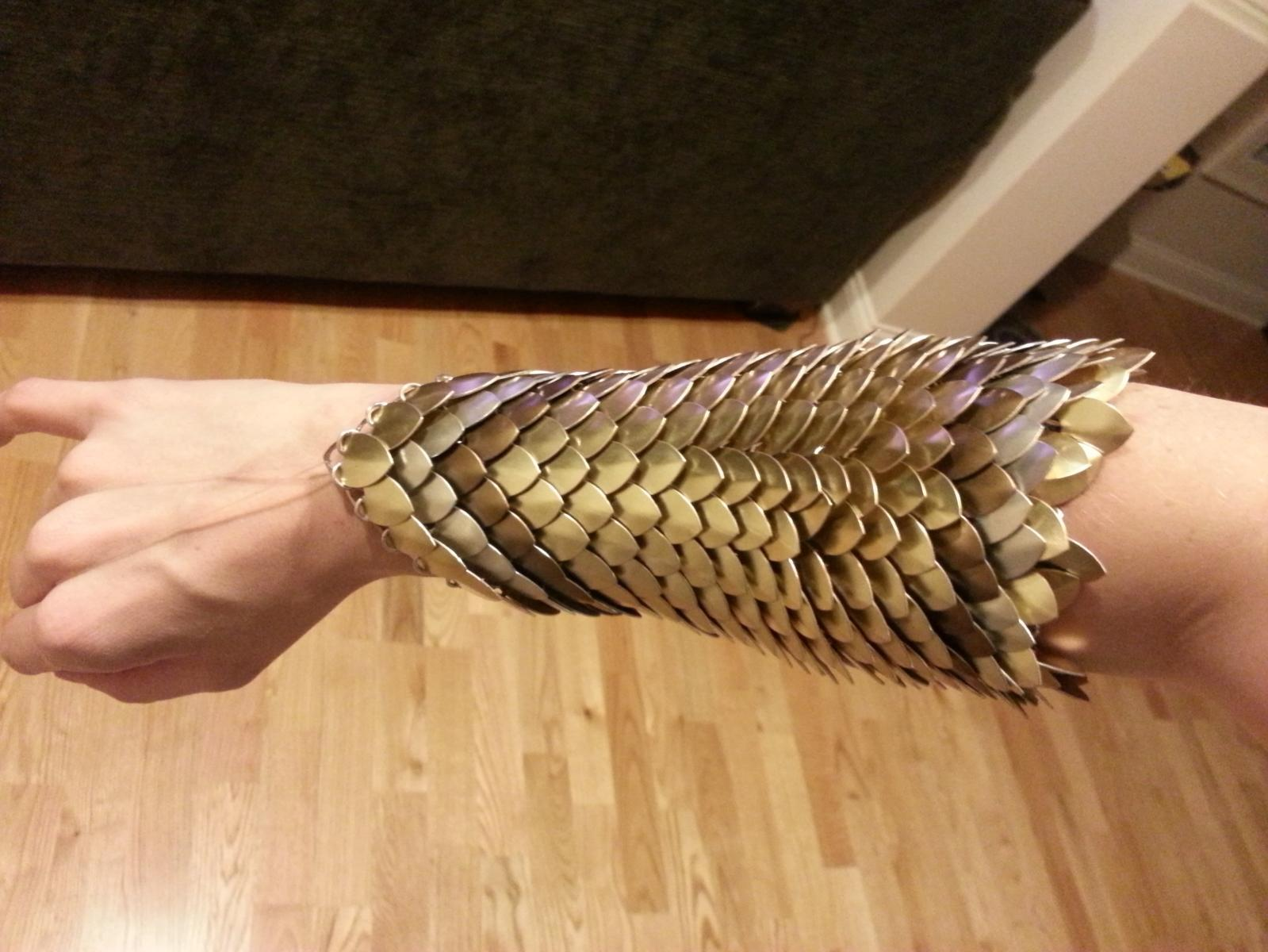 Wonder Woman Scale Bracers