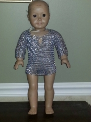 American Girl Doll Chainmail Shirt 2