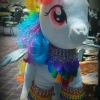 armored Rainbow Dash