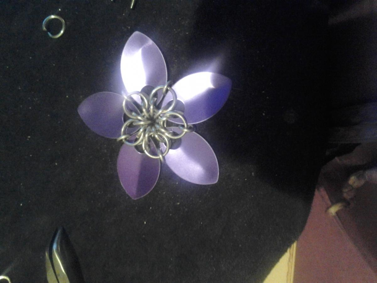 Large scale flower