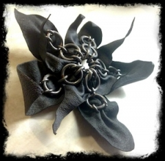 Leather and Steel - Flower