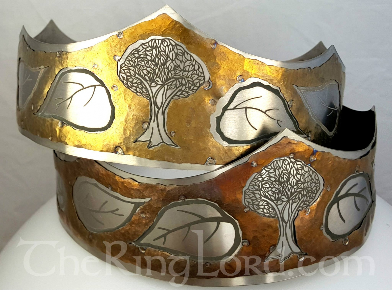 Myrgan Wood Coronets