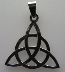 Stainless Celtic Knot Pendant