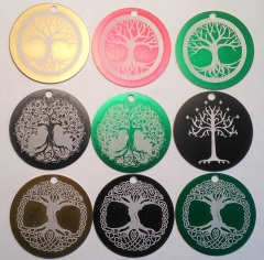 """1.5"""" laser engraved tags"""