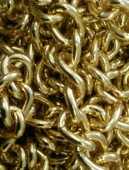 Huge gold chain