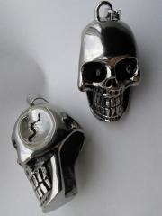 Cast stainless Skulls