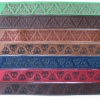 Laser engraved leather bracelets - trinity design