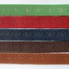 Laser engraved leather bracelets - Celtic Knots