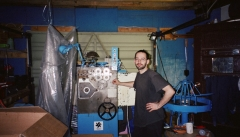 Pic from 2001 - 1st machine in garage