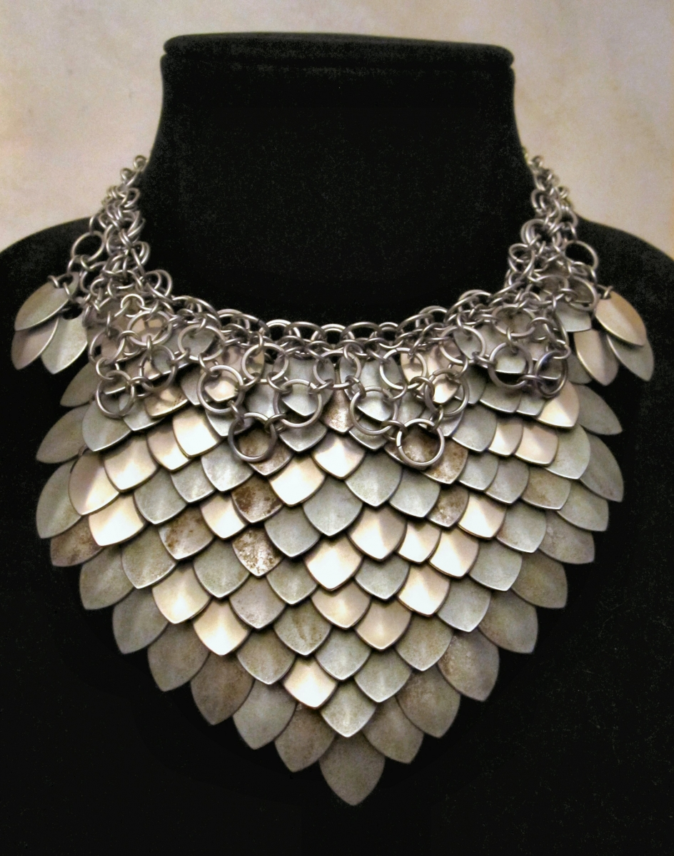 Steel Ruff necklace