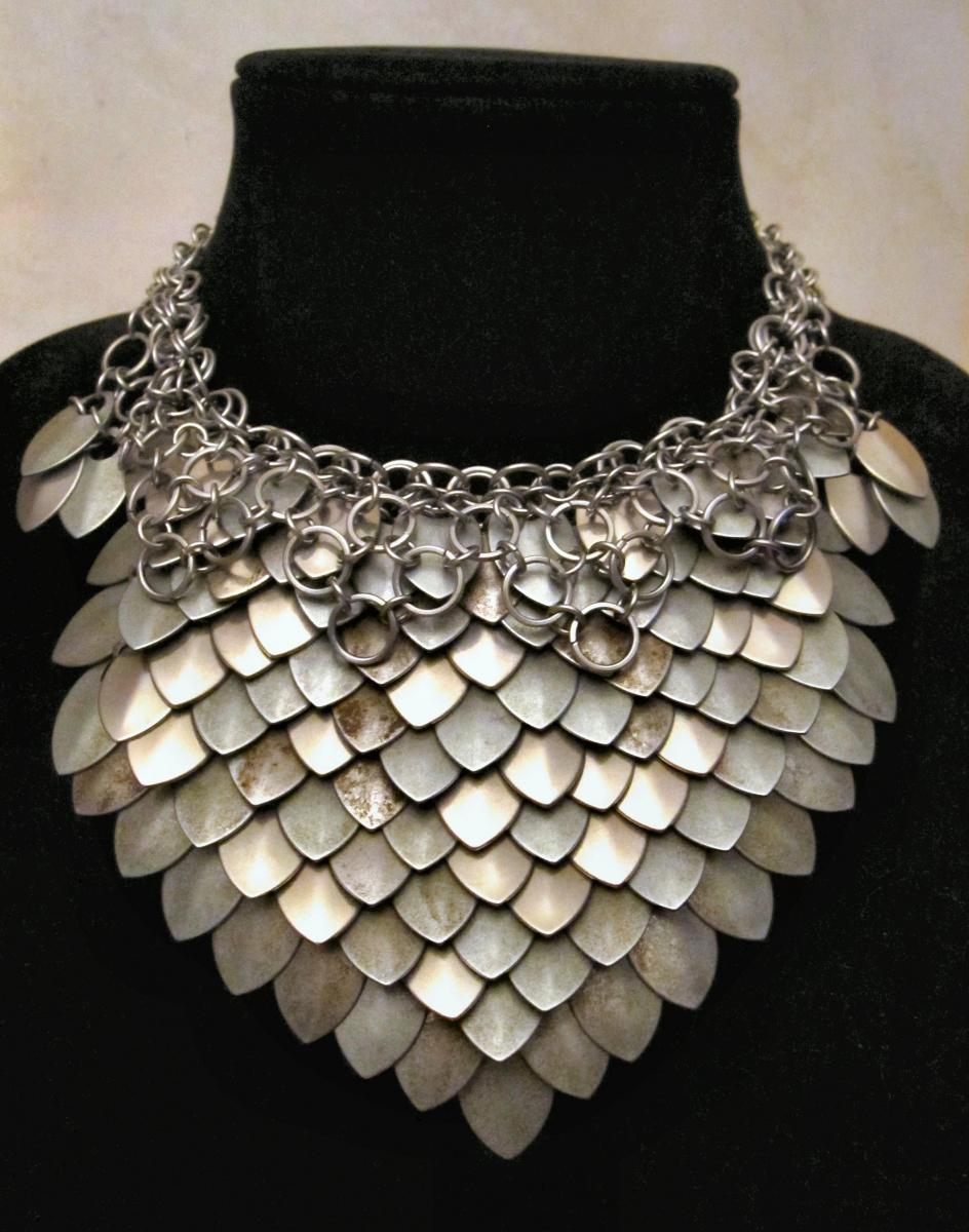 Steel Ruff necklace