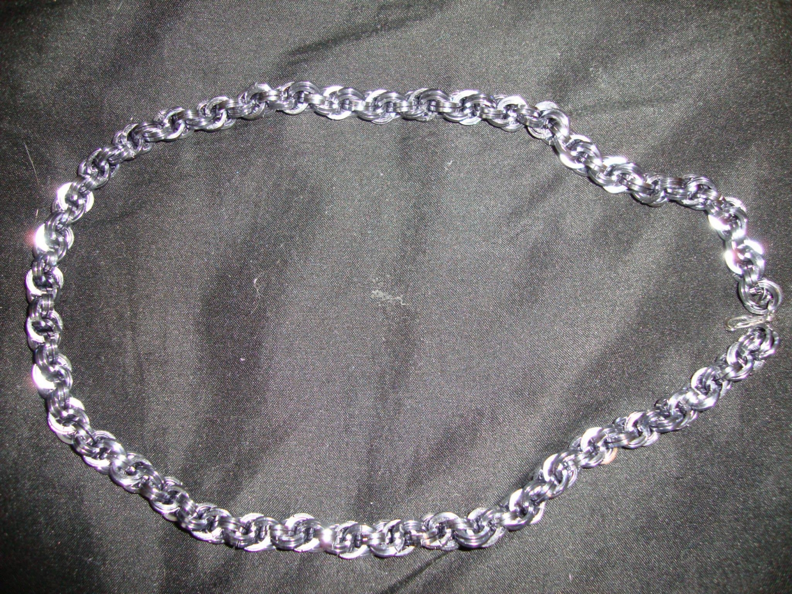 double sprial necklace