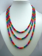 JPL rainbow necklace