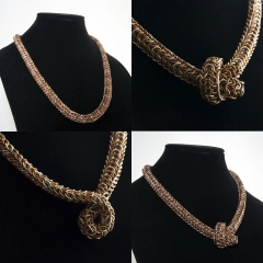 Snakeskin Persian Dragonscale Necklace